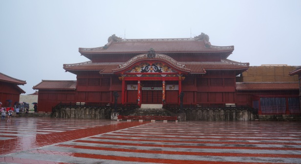 Shuri Castle in Naha City, Okinawa, Japan is declared as one of UNESCO's World Heritage Sites.