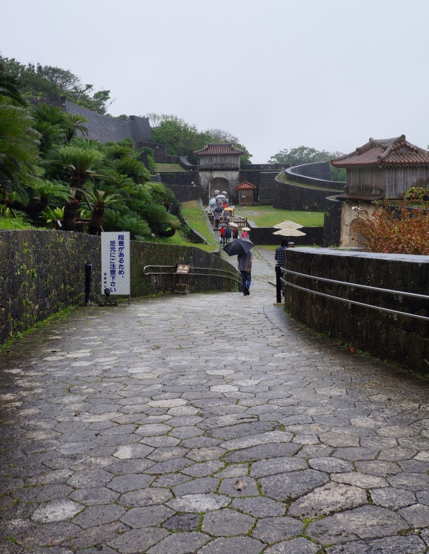 Shuri Castle in Naha City, Okinawa, Japan is a World Heritage Site declared by UNESCO.
