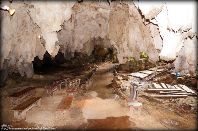 Ongoing excavations of pre-historic settlement believed to be 1,800 years old in the Valley of Gangola. Bones and tools of the Minatogawa man was found here, who was thought to be among the oldest inhabitants of Okinawa, and one of the oldest in all Asia.