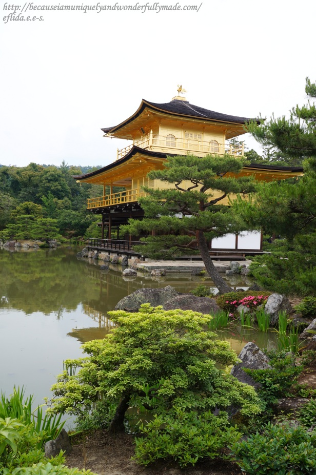 Kinkaku-ji was originally a retirement villa in the late 14th century but was converted into a Zen temple of the Rinzai sect.