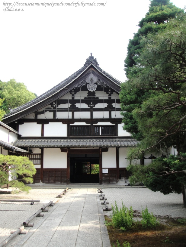 Tenjuan Temple is one of the subtemples of Nanzen-ji in Kyoto which is almost 700 years old.