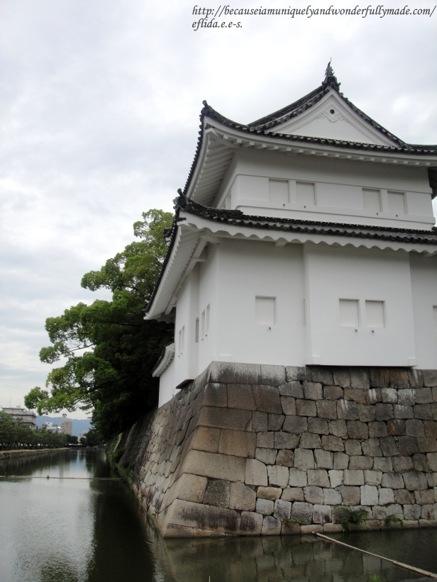 The Southwest Tower at Nijo Castle in Kyoto, Japan.