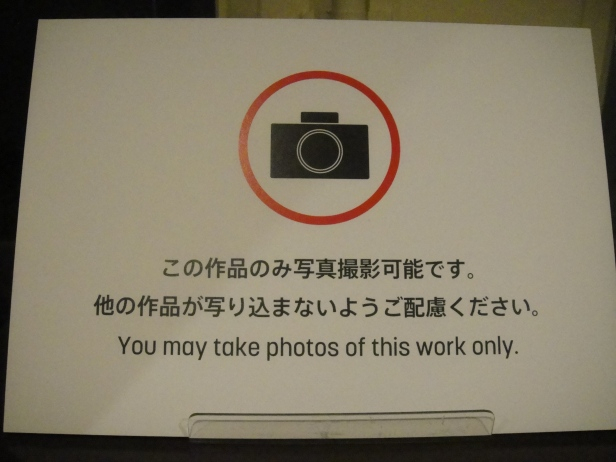 To protect the copyright of each artworks, taking photos are prohibited and cameras are only allowed in some designated areas at Kyoto International Manga Museum.