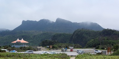 Cape Hedo is the northernmost point of Okinawa Island located in a less populous Kunigami Village.