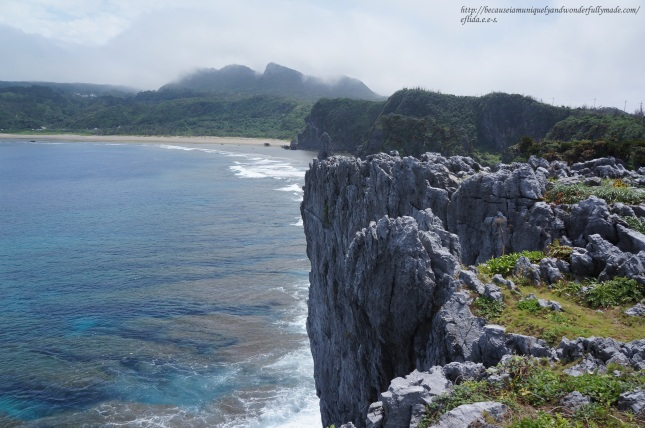 The captivating view from Cape Hedo point in Okinawa, Japan.