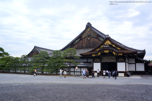 The Ninomaru at Nijo Castle in Kyoto, Japan served as the residence and office of the shogun during his visits.
