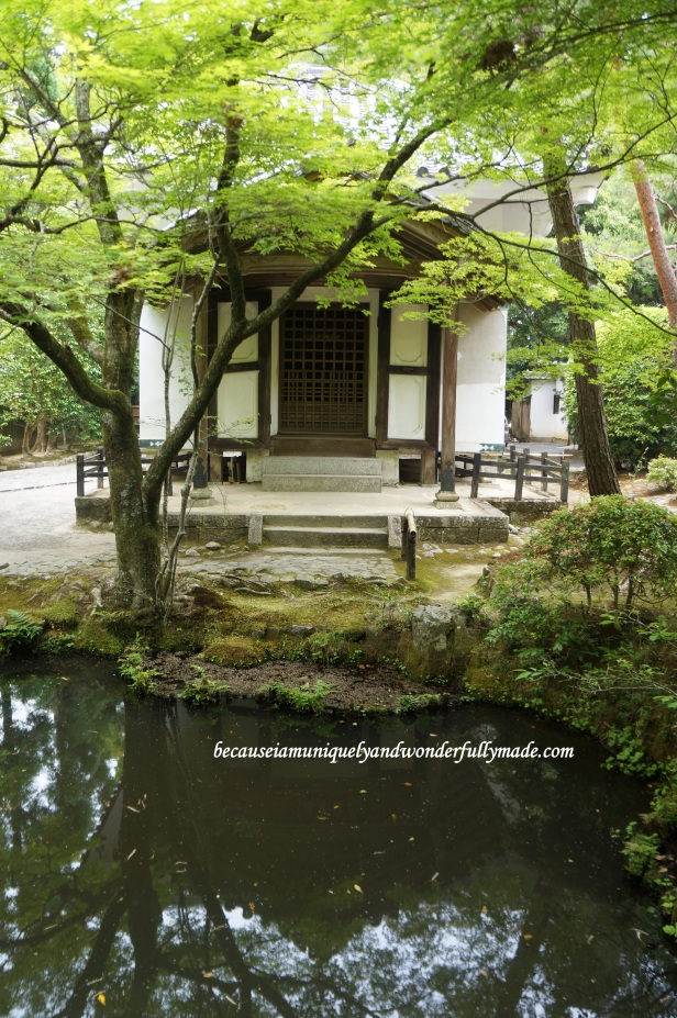 The Lecture Hall (講堂) at Honen-in Temple in Kyoto, Japan.