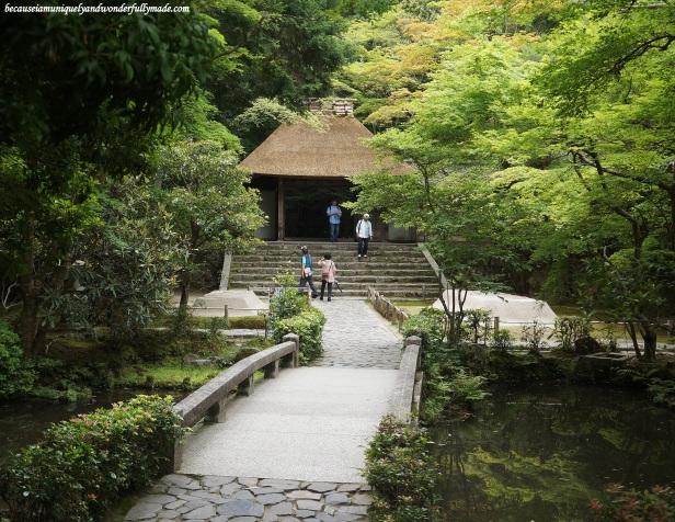 Honen-in 法然院 Temple in Kyoto, Japan.