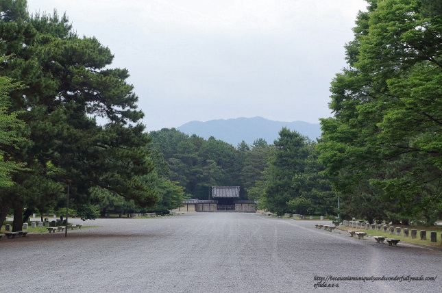 Kyoto Imperial Palace Grounds Kyoto-gyoen (京都御苑) - Kyoto, Japan.