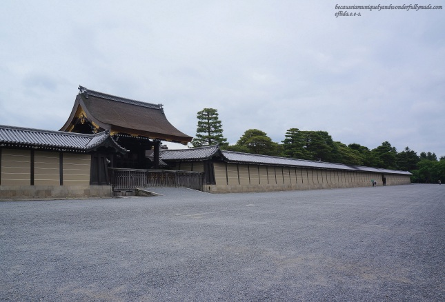 Kyoto Imperial Palace Grounds - Kyoto, Japan