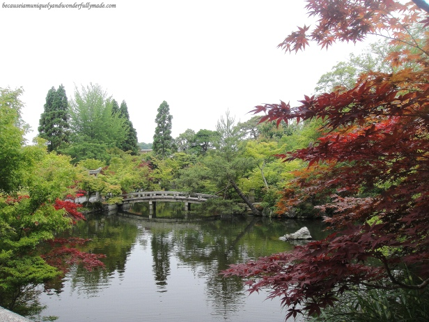 The Hojo Pond at Eikan-dō Zenrin-ji 永観堂禅林寺 in Kyoto, Japan.
