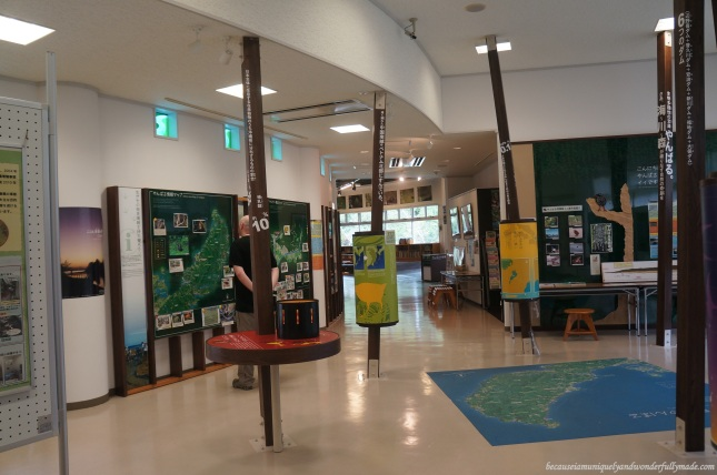 There are no live animals kept in Yanbaru Wildlife Center but the audio and visual presentations were aimed to be interactive, educational and fun.