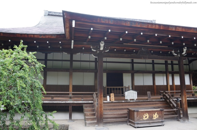 One of the buildings within the complex grounds of Tenryuji Temple in Arashiyama District in Kyoto, Japan.