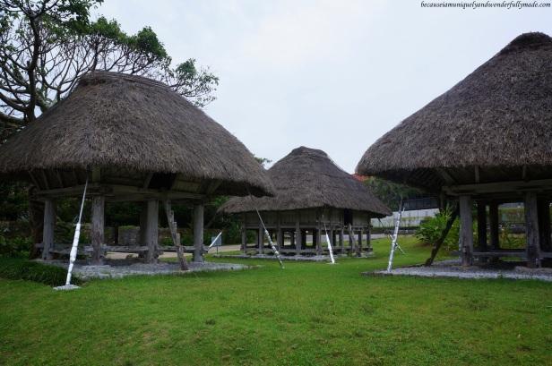 Native Okinawan Village and Omoro Arboretum at Ocean Expo Park in Motobu, Okinawa, Japan. 本部 朝基 , 沖縄県