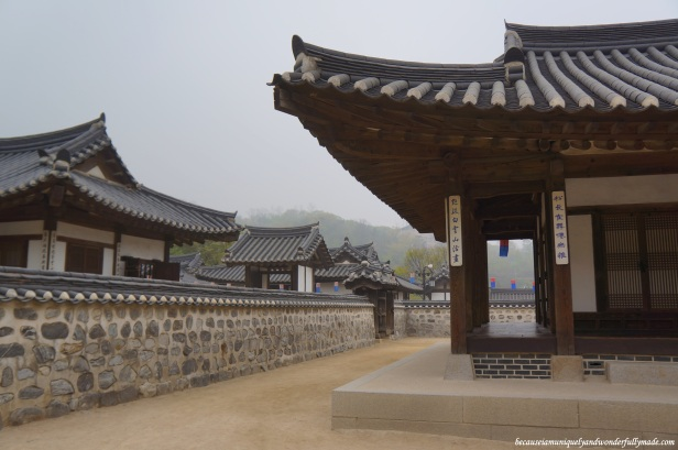 Namsangol Traditional Village in Jung-gu, Seoul, South Korea.