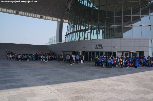 National Museum of Korea 국립중앙박물관 in Yongsan, Seoul, South Korea.