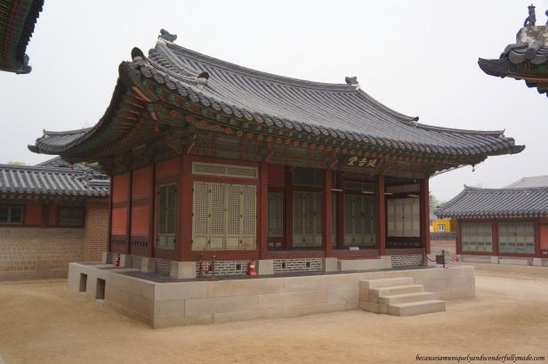 Taewonjeon 태원전 or Taewonjeon Shrine at Gyeongbokgung Palace 경복궁 in Seoul, South Korea.