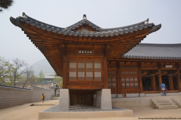 The Governor-General's Residence at Gyeongbokgung Palace 경복궁 in Seoul, South Korea.