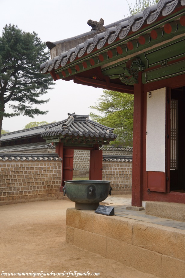 The courtyard that leads to the main hall of Jongmyo Shrine 종묘대제 in Seoul, South Korea.