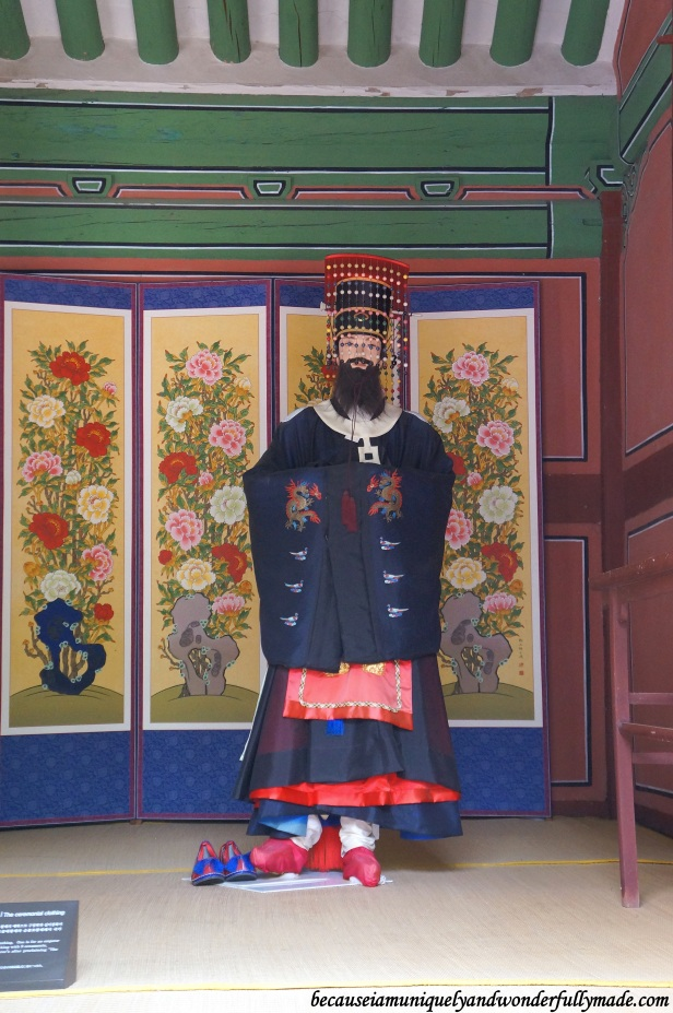 The King at Jongmyo Shrine 종묘대제 – South Korea