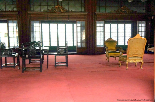 A peek inside the Huijeongdang Hall 희정당 of Changdeokgung Palace 창덕궁 in Seoul, South Korea.
