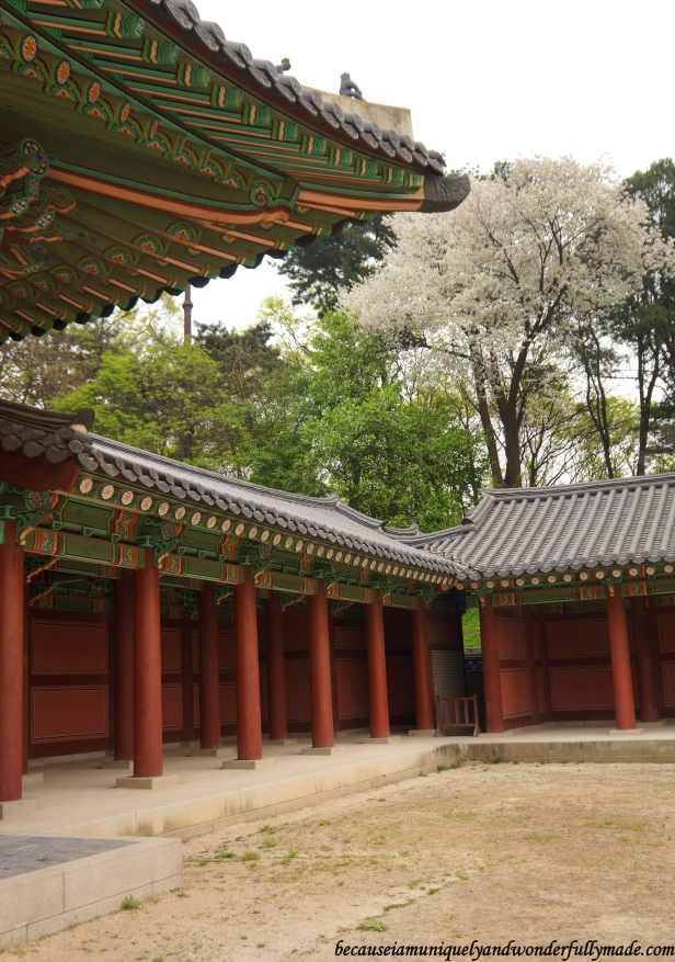 Changdeokgung Palace 창덕궁 in Seoul, South Korea.