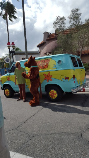 Scooby Doo at Universal Studios Theme Park in Orlando, Florida, USA.