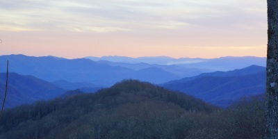 The Great Smoky Mountain is part of the Blue Ridge Mountains, a mountain range in the Eastern US extending from West Virginia to Georgia. It is called the Blue Ridge because of the bluish color when the mountain is seen from a distance.