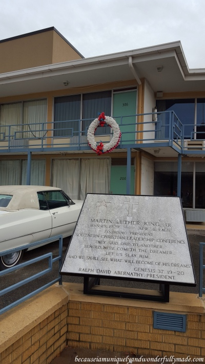 Room 306 of Lorraine Motel where Martin Luther King Jr. was assassinated. It is part of the complex of museums and historic buildings of National Civil Rights Museum in Memphis, Tennessee.
