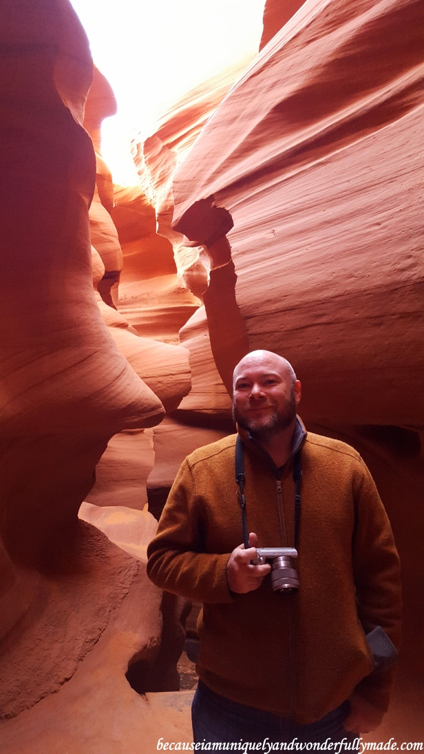 Some parts of Lower Antelope Canyon can get very narrow but picture-worthy.