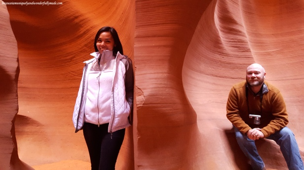 Lower Antelope Canyon is one of the most photographic and most photogenic sights in the world. Would you believe this is only one photo?