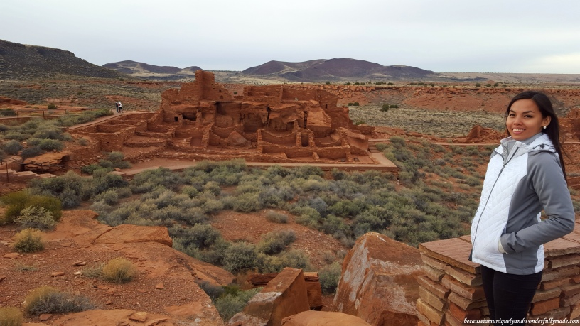 Wupatki Ruins at Wupatki National Monument in Arizona.