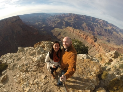 The Lipan Point of the Grand Canyon is my favorite lookout because of the unobstructed panorama view it offers. It is also less crowded lookout point.