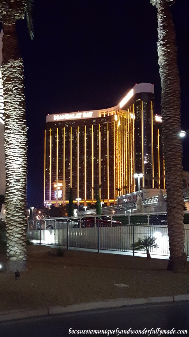 The famous Mandalay Bay hotel and casino in Las Vegas.