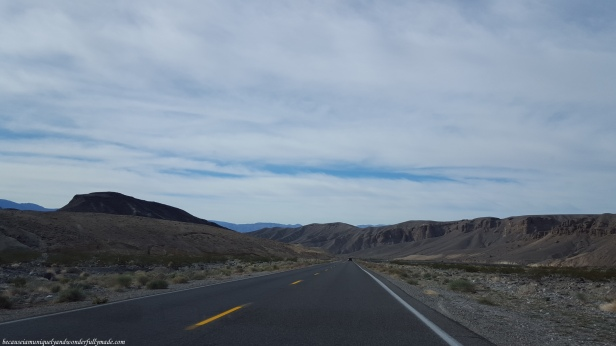 One of our first glimpses of Death Valley National Park.