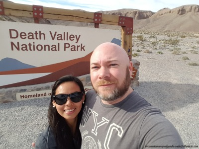 Officially inside the Death Valley National Park, Homeland of the Timbisha Shoshone.