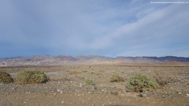 About to leave Death Valley National Park in California.
