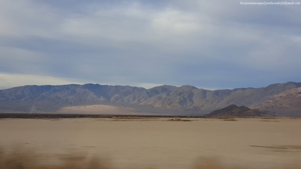 View from Nadeau Trail on California Highway 190 as we were leaving Death Valley National Park.