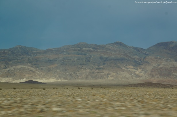 Slowly leaving Death Valley as we continue on with California Highway 190.