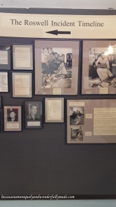 Articles about Roswell UFO Crash and timelines at International UFO Museum and Research Center in Roswell, New Mexico.