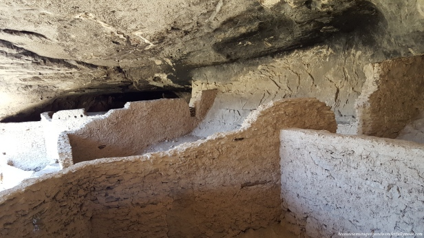 Archaeologists have identified 46 rooms at Gila Cliff Dwellings National Monument.