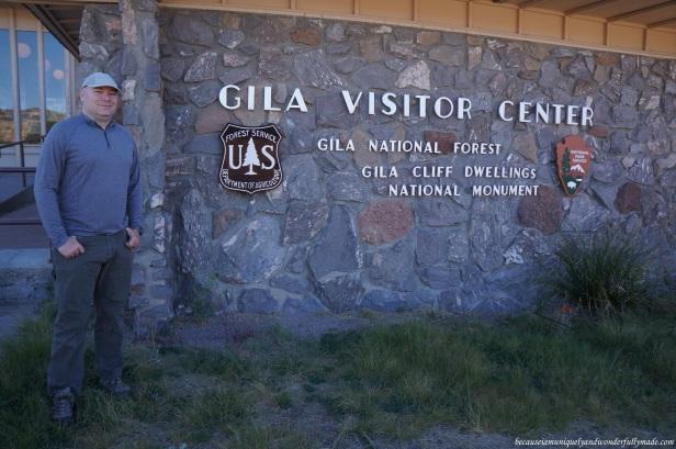 Inside Gila Visitor Center is a small museum celebrating the Mogollon culture.